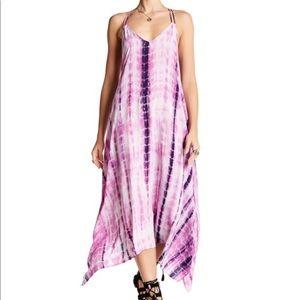 Dresses & Skirts - Lovestitch $99 tie dye maxi dress small